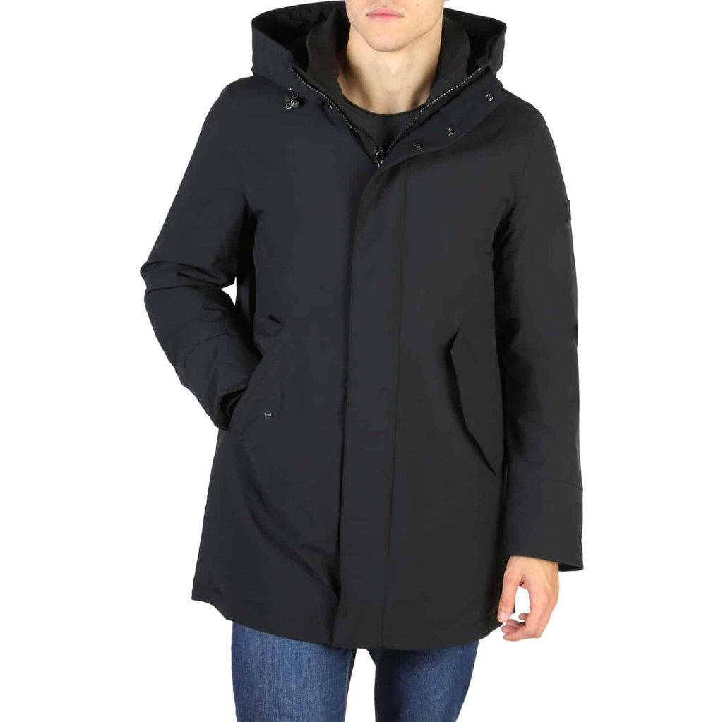 Woolrich - STRETCH-MOUNTAIN-PARKA - Black