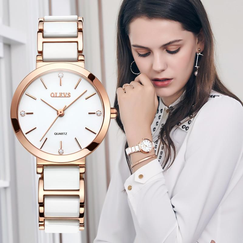 OLEVS New Rose Gold Quartz Watch