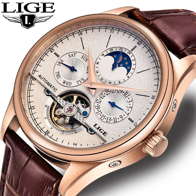 LIGE Classic Automatic  Watch