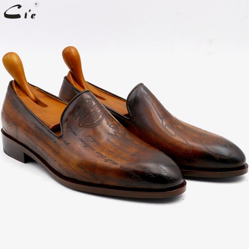 Cie Round Toe Leather Loafer